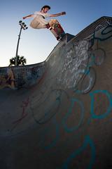 Kalen Gelo - Fakie 5-0 (JR.SANTIAGO) Tags: skateboard skateboarding skatepark bethune daytona beach fl florida transition skate park fakie 50 frontside backside bowls graffiti canon 6d 15mm fisheye f28 adobe lightroom cc