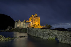 Eilean Donan Castle, Scotland. (Gary Alexander landscapes) Tags: autofocus landscape scotland eilean donan castle garyal23 the look dornie land night long exposure dark mysterious bridge loch canon 6d explore travel tripod 17 40 f4 l lens