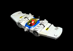 LL2531 Recon ship (timhenderson73) Tags: lego custom moc neo classic space