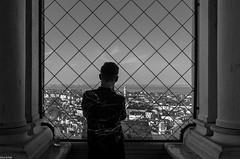 the view (zora_schaf) Tags: view ausblick venezia venedig schwarzweiss blackandwhite turm zoraschaf glockenturm