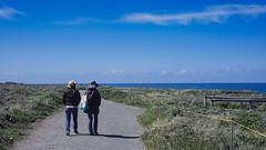 A Walk (mikespark) Tags: xe1 xf35mm14 fujifilm sanluisobispo beach sky blue