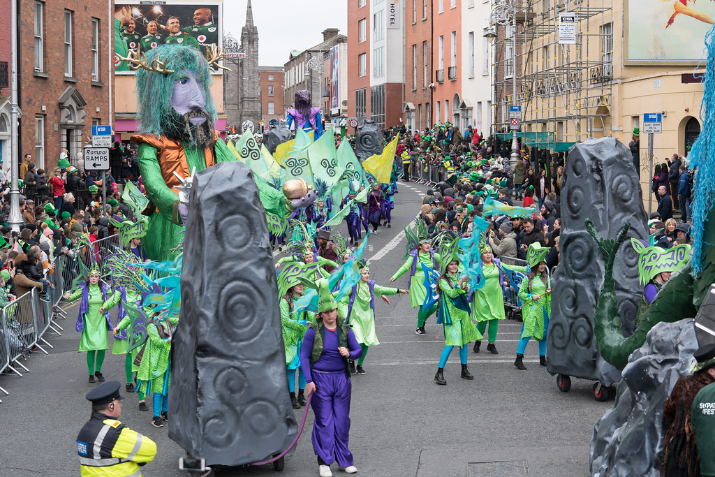 THE INISHOWEN CARNIVAL GROUP [PATRICKS DAY PARADE IN DUBLIN 2017]-126029
