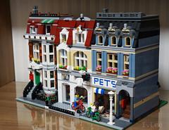 31026ALT-6 (inyonglee) Tags: lego legobuilding moc 31026 lego31026 modular legomodular cafe