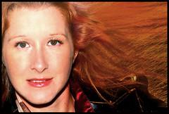 (Cliff Michaels) Tags: nikon anfela model photoshop pse9 face portrait girl beautiful hair redhead headshot