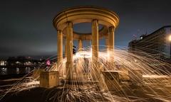 Looks like a catherine wheel 2 (Claymore55) Tags: lightpainters london meetup nikond750 steelwoolspinninglightpainting