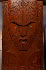 Ekspozycja dot. kultury Maori | Exposition of Maori Culture