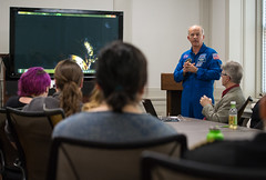 Astronaut Jeff Williams at National Park Service (NHQ201703230009) (NASA HQ PHOTO) Tags: washington usa usdepartmentoftheinterior nationalparkservicenps dc expedition48 jeffwilliams nasa aubreygemignani