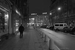 Katowice (nightmareck) Tags: katowice śląskie górnyśląsk silesia polska poland europa europe humanelement humanfactor silhouette silhouettephotography czarnobiały czarnobiałe bw blackandwhite blackwhitepassionaward acros night handheld fotografianocna bezstatywu fujifilm fuji xt20 apsc xtrans xmount mirrorless bezlusterkowiec xf18mm xf18mmf20r fujinon pancakelens