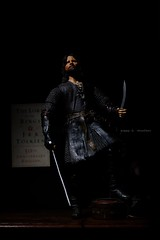 Strider (pdchusfani) Tags: toyphotography books tolkien lotr aragorn toys actionfigure