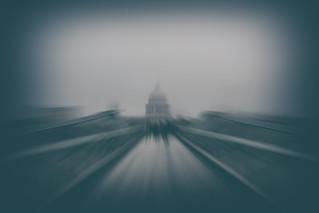 Across The Millennium - St Paul's London by Simon & His Camera