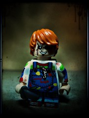 Chucky (LegoKlyph) Tags: lego custom horror doll chucky childsplay movie possessed evil blood creep voodoo