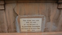 Foundation stone of the Soldiers' Memorial Hall, laid by the Mothers of Gladstone Soldiers. Gladstone, South Australia (contemplari1940) Tags: gladstone soldiers memorial hall foundation stone soldiersmothers roll honour sirtombridges governor pirie excelsior band wwi greatwar