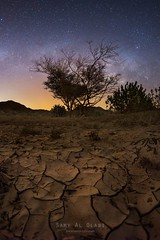 Heavens & Earth vi (samy olabi) Tags: ifttt 500px trees mountains travel blue night light rock rocks stars green mountain cracks long exposure desert astronomy milky way mud astrophotography photography nightscape dubai uae rak abu dhabi