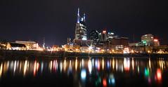 Nashville Skyline (ap0013) Tags: nashville skyline tennessee nashvilletennessee city cityscape night nighttime cumberland river park urban