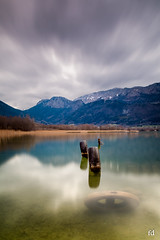 en pneutillé (flo73400) Tags: pneu paysage lacdannecy boutdulac lac alpes hautesavoie poselongue lake france french longexposure landscape le