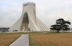 Azadi Tower (Wild Chroma) Tags: azadi tower azaditower tehran iran persia