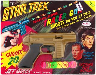 1967 Star Trek Rapid-Fire Tracer Gun