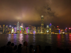 A symphony of lights (malc1702) Tags: lightshow symphonyoflights hongkong travel vacation holiday iphone6 iphonecamera iphonephotography iphone soundandlightshow tourism touristattraction outdoor sky nightphotography nightshot night nightscene nightscape cityscape skyline