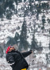 Snow shower (touragrapher) Tags: 70200 canon70200 canon70d dharali harshil heroimpulse himalayas himalyan offroader royalenfield sigma30mm snow snowstorm2017 snowstorm uttarkhashi uttrakhand uttrakhandtourism whereeaglesdare yamahawr450f remotestcorners tourer