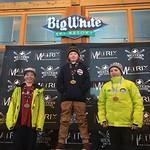 Big White Western Ski Cross Finals U12 MEN - RACE 2 PHOTO CREDIT: Todd Cashin