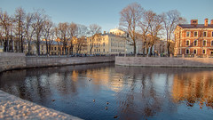 Spring has come at last (pilot3ddd) Tags: stpetersburg moykariver newhollandisland spring reflection ducks olympuspenepl7 panasoniclumixg1232 diamondclassphotographer