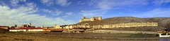 Berlanga de Duero (santiagolopezpastor) Tags: españa espagne spain castilla castillayleón soria provinciadesoria medieval middleages castillo castle chateaux muralla murallas wall walls panorámica pano panoramique panorama panoramic panoramica