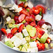 Salad with Avocado and Strawberries