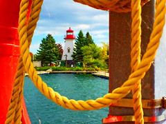 Welcome home, Judes! (peggyhr) Tags: peggyhr lighthouse framed cobwebs trees lake ropes green blue red yellow white humberbaypark marina dedication archive toronto ontario canada heartawards frameit~level01~ thegalaxy infinitexposurel1 super~sixbronze☆stage1☆ thelooklevel1red thelooklevel2yellow level1pfr thelooklevel3orange ►thebestshots◄ thegalaxyhalloffame 30faves~ thegalaxystars thegalaxystarshall0ffame 50faves 60faves~