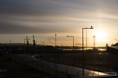 Swansea Industry (Kenvyn Davies) Tags: 2016 clouds coast cymru dawn docks industry landscape marina outdoors pentaxk3ii river sea sky skyline southwales sun sunlight sunrise swansea wales walescymru winter cymruwales