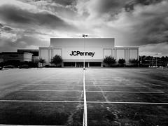 former JCPenney; Tanglewood Mall, Roanoke, Virginia (Joe Architect) Tags: blackandwhite bw tanglewood tanglewoodmall roanoke mall virginia va deadmall 2017 jcpenney jcpenneyco penneys jcp departmentstore retail