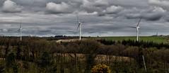 New Boy's On The Block (Boba Fett3) Tags: telegraphtuesday htt turbine power energy landscape tall wind renewableenergy crosswindfarm westcountry devon photostich panoramic