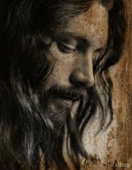 Jueves Santo (Franco D´Albao) Tags: francodalbao dalbao konica portrait xosealba monochrome cara rostro face fran yo me 1974 melena longhair barba beard