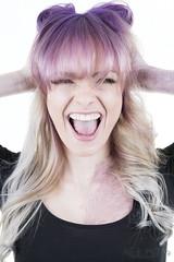 Bella_DSC2888 (Nick Mitha) Tags: hair model headshot fade toning salon shimmer nuance blonde purple