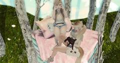 Dream. (Tiramiisuu Resident) Tags: frou spring pastel kawaii femboy kawaiiproject dream scenery cute sl secondlife