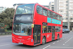 2464 SL14 DFC (ANDY'S UK TRANSPORT PAGE) Tags: london buses hydeparkcorner abelliolondon