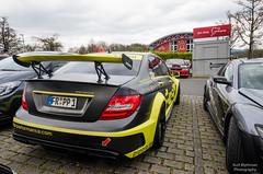 Mercedes C63 (Kurt Blythman) Tags: nurburgring nordeschliefe green hell ring track cars auto racing