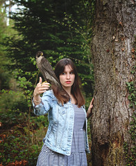 165/365 halcón (yanakv) Tags: yo yanitophotography me girl halcón bosque forest intheforest enelbosque 365days 365dias eos1200d eos canon airelibre primavera spring practicando wildlife vidasalvaje