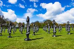 20171009-IMGP0052 (douglasjarvis995) Tags: sculpture yorkshire landscape pentax 1770mm colour garden figures grass colourful statues art park