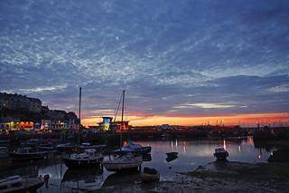 D13031.  Brixham Harbour.