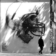 No way out (pascalcolin1) Tags: paris13 homme man photoderue streetview urbanarte noiretblanc blackandwhite photopascalcolin