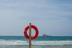 noeliauroz.com (Noelia Uroz) Tags: beach summer sea shore island safety save blue benidorm spain