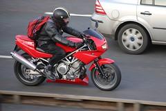 Yamaha TRX 850 (kenjonbro) Tags: uk red england stone canon kent twin tunnel yamaha 850 trx trx850 a282 thebrent worldcars kenjonbro datrford canoneos5dmkiii canonzoomlensef70300mm1456isusm parralleltwin k155trx