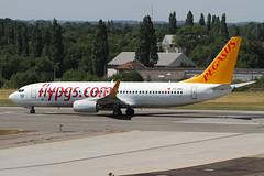 Pegasus Airlines 737 TC-AAJ (Bill Wilt) Tags: art plane turkey photography airport europe belgium ataturk pegasus aviation boeing airlines liege spotting airliner 737 737800 lgg flypgs eblg tcaaj
