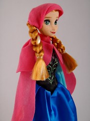Anna - Frozen Knockoff Doll Set - First Look - Deboxed - Standing - Midrange Left Front View (drj1828) Tags: china anna standing frozen doll clone purchase bootleg 12inch firstlook knockoff dollset deboxed