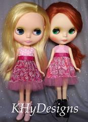 Pink Babydoll dresses