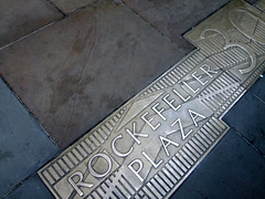 (Shane Henderson) Tags: nyc newyorkcity newyork 30 architecture plaque silver manhattan rockefellercenter sidewalk worn marker weathered distressed address 30rock rockefellerplaza gebuilding midtownmanhattan