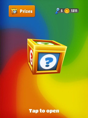 Subway Surfers Chests: screenshots, UI