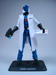 G.I. Joe 2014 Con Exclusive — Cobra Lab-Rats — Front (BurningAstronaut) Tags: modern club real toy lab cobra force action zombie joe american rats convention hero figure era technician collectors eco exclusive gi industries loose initiative labrats compoundz