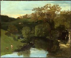 Valley (lluisribesmateu1969) Tags: courbet philadelphia philadelphiamuseumofart landscape realism 19thcentury notonview