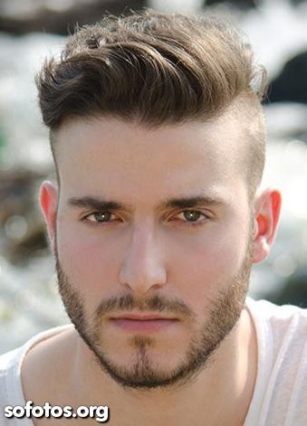 corte de cabelo masculino sidecut